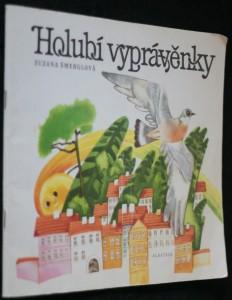 náhled knihy - Holubí vyprávěnky