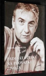 náhled knihy - Miroslav Donutil o sobě, padesát uzlíků na provázku života