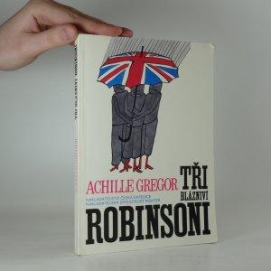 náhled knihy - Tři bláznivý Robinsoni