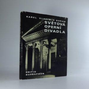 náhled knihy - Světová operní divadla