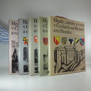 náhled knihy - Hrady, zámky a tvrze v čechách, na moravě a ve slezsku I-V