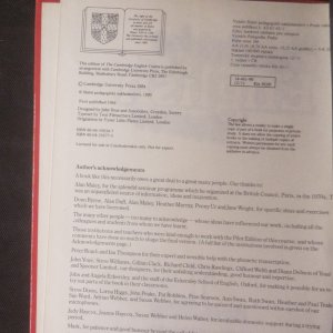 antikvární kniha The Cambridge English course 1, 1990