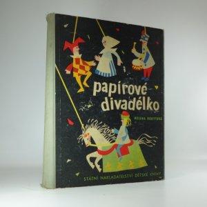 náhled knihy - Papírové divadélko