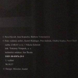 antikvární kniha Já, 1996