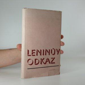 náhled knihy - Leninův odkaz