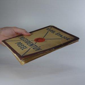 antikvární kniha Presidentův posel, 1926