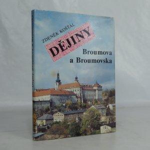 náhled knihy - Dějiny Broumova a Broumovska