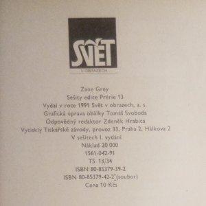 antikvární kniha Hrdý Yaqui a jiné povídky (3 sešity), 1991