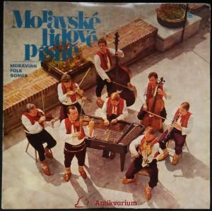 náhled knihy - Moravské lidové písně