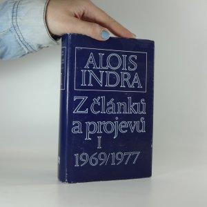 náhled knihy - Z článků a projevů. Sv. 1, 1969-1977