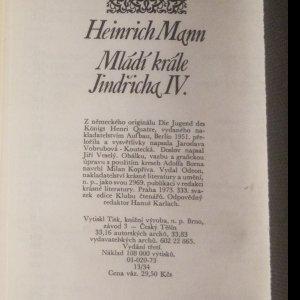 antikvární kniha Mládí krále Jindřicha IV., 1973
