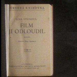antikvární kniha Film ji odloudil. Román, neuveden