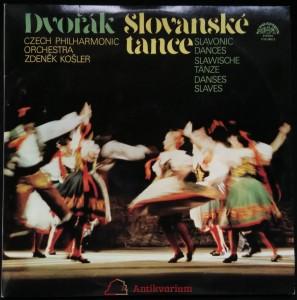 náhled knihy - Dvořák: Slovanské tance