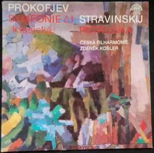 náhled knihy - Prokofjev: Symfonie č.1 , Stravinskij: Petruška
