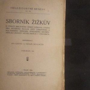 antikvární kniha Sborník Žižkův, 1924