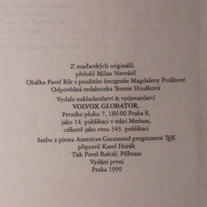 antikvární kniha Třináctý zpěv, 1999