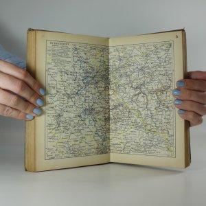 antikvární kniha Knaurs Welt-Atlas, 1938