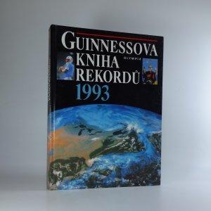 náhled knihy - Guinnessova kniha rekordů. 1993