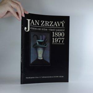 náhled knihy - Jan Zrzavý. Výstava ke stému výročí narození. 1890-1977