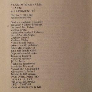 antikvární kniha Slavní a zapomenutí , 1983