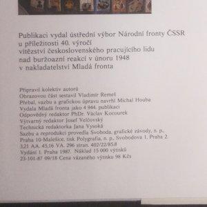 antikvární kniha Národní fronta Československé socialistické republiky , 1987