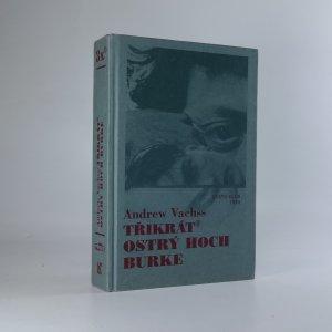 náhled knihy - Třikrát ostrý hoch Burke