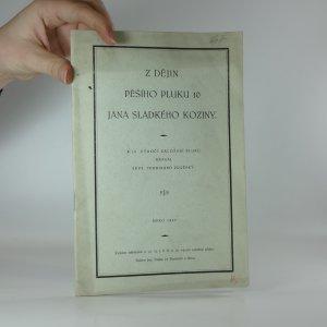 náhled knihy - Z dějin pěšího pluku 10 Jana Sladkého Koziny