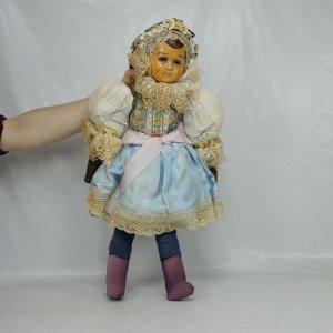 náhled knihy - Krojovaná starožitná panenka