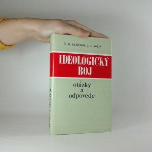 náhled knihy - Ideologický boj. Otýzky a odpovede