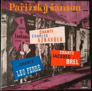 náhled knihy - Pařížský šanson