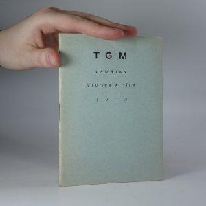 náhled knihy - T. G. M. Památky života a díla