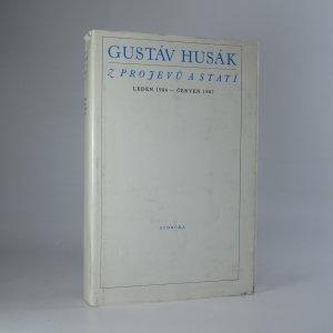 náhled knihy - Z projevů a statí (leden 1984 - červen 1987)
