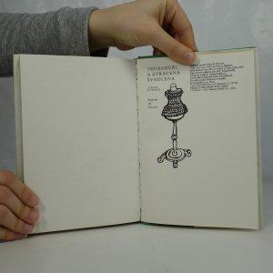 antikvární kniha Trubadúři a ztracená švadlena, 1983