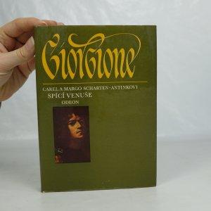 náhled knihy - Spící Venuše. Život Giorgionův.