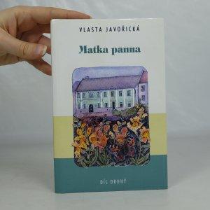 náhled knihy - Matka panna. 2. díl.