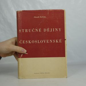 náhled knihy - Stručné dějiny československé