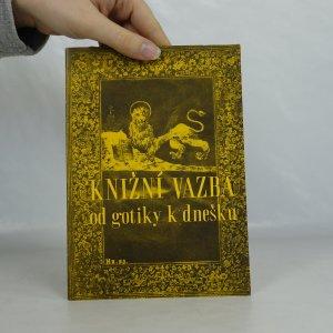 náhled knihy - Knižní vazba od gotiky k dnešku