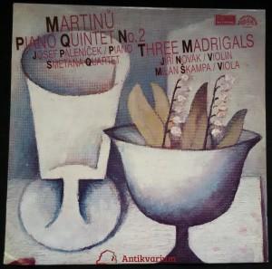 náhled knihy - Bohuslav Martinů: Piano quintet (1944)