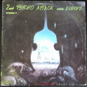 náhled knihy - 2nd Psycho Attack Over Europe