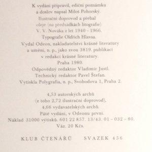 antikvární kniha Můj zpěv, 1980
