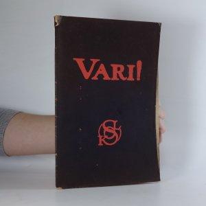 náhled knihy - Vari! : sokolská odveta