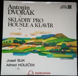 náhled knihy - Antonín Dvořák: Skladby pro housle a klavír