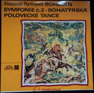 náhled knihy - Alexandr Porfirjevic Borodin: Symfonie č.2 - Bohatýrská, Polovecké tance