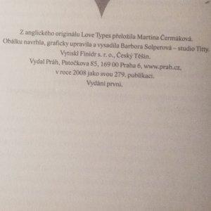 antikvární kniha Partnerské typy, aneb, Kdo se ke mně hodí, 2008