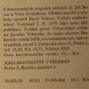 antikvární kniha Smysl člověka, 1970