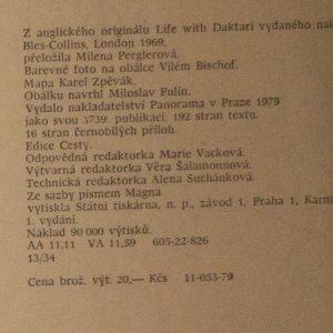antikvární kniha Daktari, 1979
