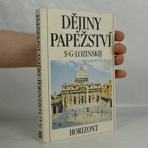 náhled knihy - Dějiny papežství