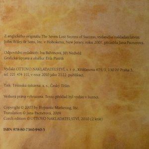 antikvární kniha Sedm ztracených tajemství úspěchu : jak překonat krizi a získat náskok před konkurencí, 2010