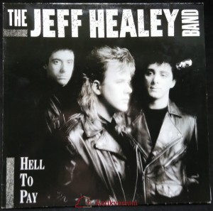 náhled knihy - The Jeff Healey Band: Hell To Pay