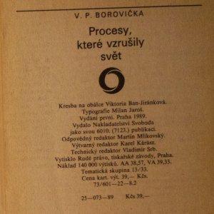 antikvární kniha Procesy, které vzrušily svět, 1989